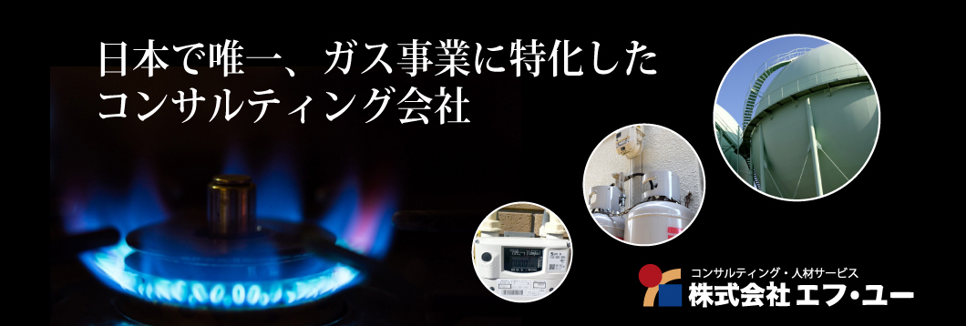 日本で唯一、ガス事業に特化したコンサルティング会社
